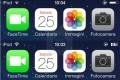 Personalizzare l'icona della batteria di ios 7 , iphone e ipad .